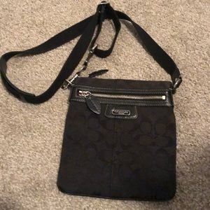 Coach crossbody purse - Black